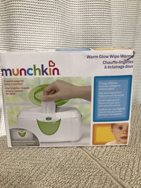 """Munchkin Warm Glow Wipe Warmer - """"it"""