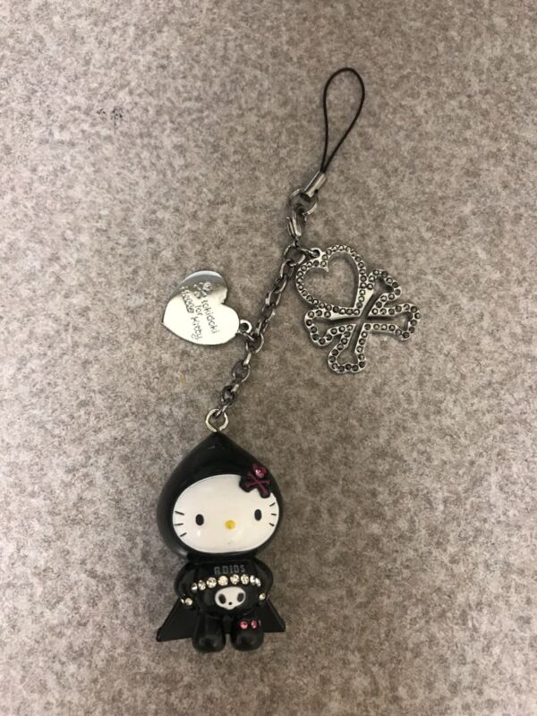 NEW Rare Tokidoki For Hello Kitty Adios Mobile Phone Strap Charm 2008 Sanrio