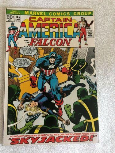 Captain America and Falcon #145 (Marvel, 1972) Hydra