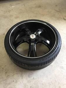 """Holden Commodore Incubus Raven 20"""" rims and tyres suit VT-VZ St Clair Penrith Area Preview"""