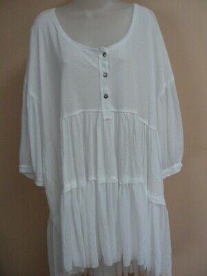 Free People Women's  dress / tunic, ,large,white