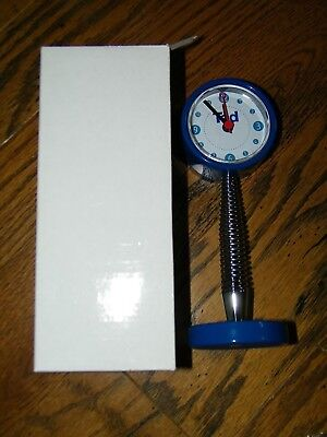 Ted A Division Of United Airlines Rare Desk Clock New Nib