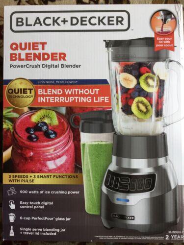 BLACK+DECKER PowerCrush Digital Quiet Blender, New Quiet Tec