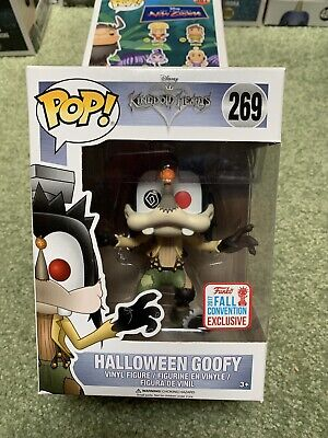 FUNKO POP #269 Halloween Goofy 2017 Fall Convention Exclusive Free Protector Mib](2017 Halloween Conventions)
