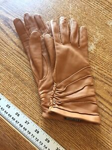 Ellen Tracy Tan Gloves