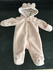 New born size carters winter suit