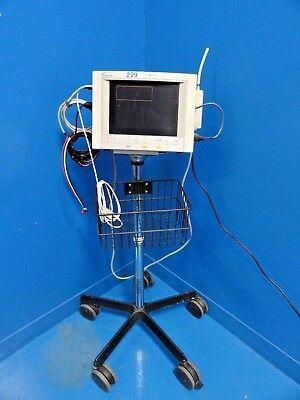Datascope Passport Xg Patient Monitor W Nbp Ekg Spo2 Leads Rf Module 14493