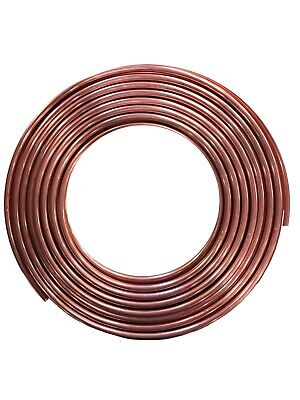 Acr 516 Od. X 50 Ft Flexible Hvac Copper Tubing Used For Refrigeration Lines
