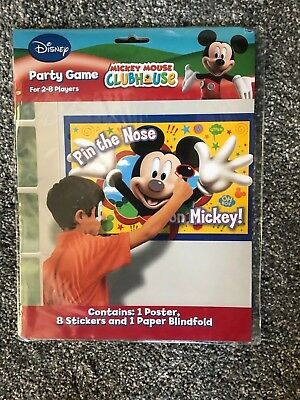 Mickey Mouse Club House Party Game - Mickey Mouse Party Games