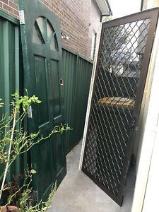 Solid Timber Entry Door & security door