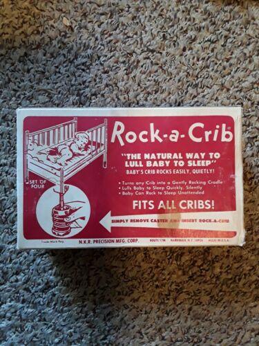 Vintage Rock-A-Crib  ( turns crib into cradle )  In ORIGINAL  Box