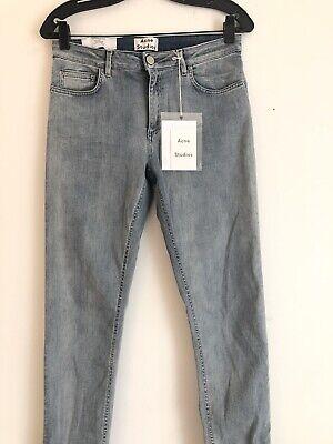 Acne Studios Skin 5 Triumph Ligjt Blue Denom Jeans  Size 32 $270