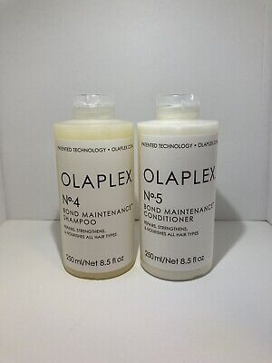Olaplex Shampoo 4 and Conditioner 5 Duo 8.5oz each [SEALED] New *Free Ship