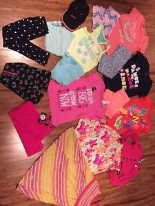 Lot vêtements fille 5/6 ans Neuf étiquettes ou peu portés