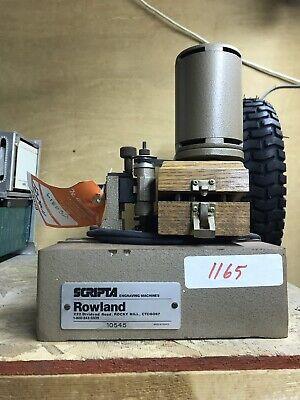 Scripta Engraving Machine Sm 10545