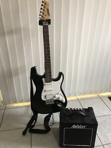 Ashton Electric Guitar black