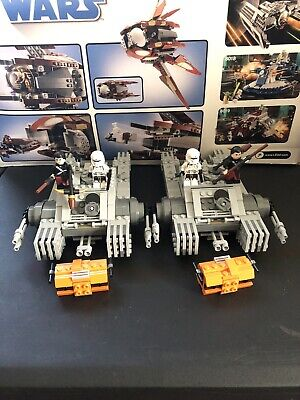 LEGO Star Wars Imperial Assault Hovertank (75152) Lot Of 2