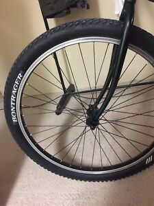 Bontrager 26.0'' x 2.00 racing tires with special AT-550 rims