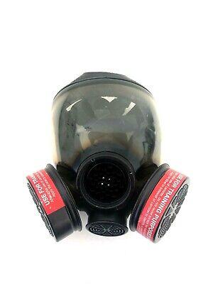 Msa Advantage 1000 Riot Control Full Face Respirator Gas Mask Size Small Sm