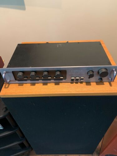 Carver C1 preamp with Bill D mods