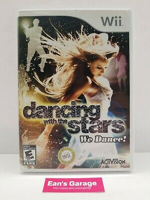 Dancing with the Stars: Nintendo Wii video game - complete - with Warranty