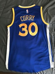 NBA STEPHAN CURRY JERSEY SZ SMALL