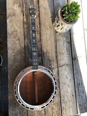 Vintage Antique Ludwig  Dixie Tenor Banjo
