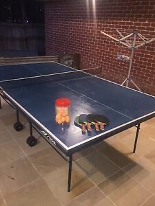 Table Tennis Table and Equipment Wishart Brisbane South East Preview