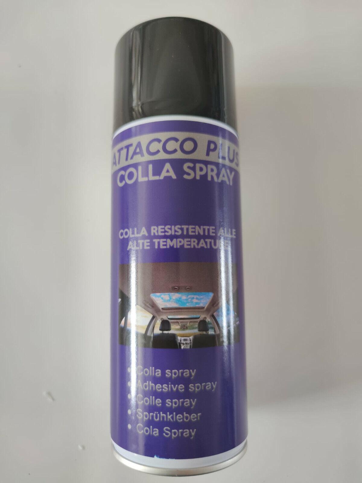 COLLA Spray Adesivo Universale Per Cielo Auto Tessuti Legno Metallo Ecopelle 400