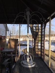 Décoration extérieur - Arbre à fleurs suspendues
