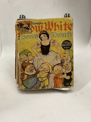 THE STORY OF WALT DISNEY'S SNOW WHITE AND THE SEVEN DWARFS (A BIG LITTLE BOOK)