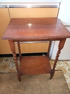 Oak Barleytwist Hall Table