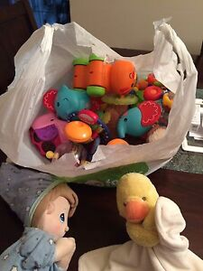 Misc. baby items/ toys
