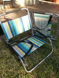 beach chairs x 2 & parasol Mosman Mosman Area Preview