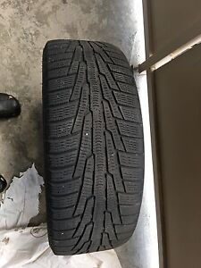 Winter tires on rims for sale Kitchener / Waterloo Kitchener Area image 3