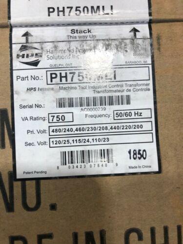 750 VA TRANSFORMER PRIMARY 480/240 SECONDARY 115/24