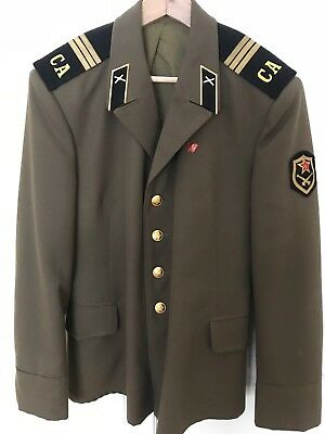 Soviet Union Military Uniform And Hat
