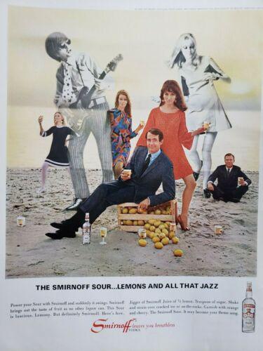 Lot of 12 Vintage Smirnoff Ads