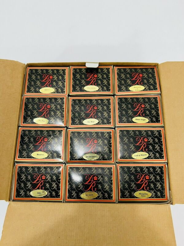 Duncan Royale Santa 1 Coll LTD ED - 12 Ornaments Set NEW open Box
