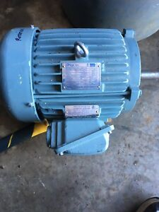 5 hp electric motor 575 volts. Like new 3 phase