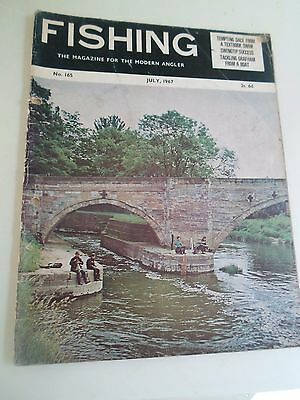 Vintage JULY 1967 FISHING The Magazine For The Modern Angler + Advertising