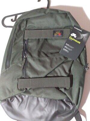 Nike SB Courthouse Skateboard Backpack Sequoia BA5305-357 - NWT