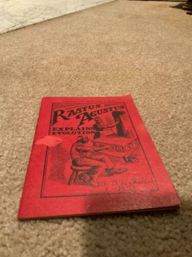 Rastus Augustus Explains Evolution by B. H. Shaddock Copyright 1928 possible 1st