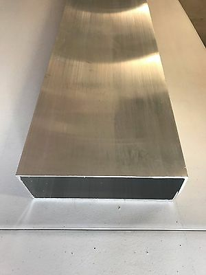 Mill Finish Aluminum Rectangle Tube Wall Tubing 8 X 3 X 18 X 48