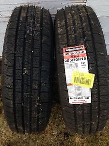 2 new 15s tires