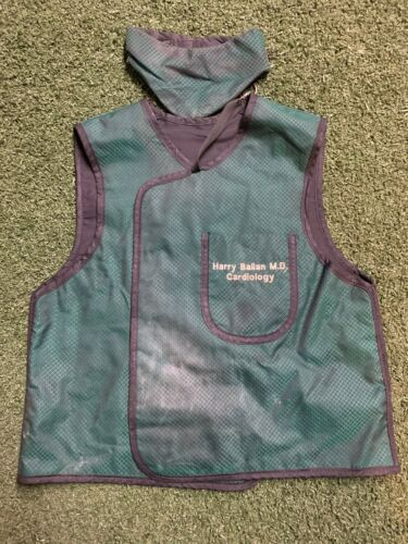 "X-Ray Lead Free Vest Apron w/ Neck Thyroid Collar Protection 23"" x 22"" Xenolite"