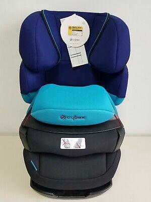 Cybex Silver Pallas 2-Fix Gr.1/2/3, 9-36 kg, Blue moon-navy blue KH2962 AS