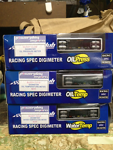 Buddyclub Racing spec digimeter oil temperature, pressure guages North Parramatta Parramatta Area Preview
