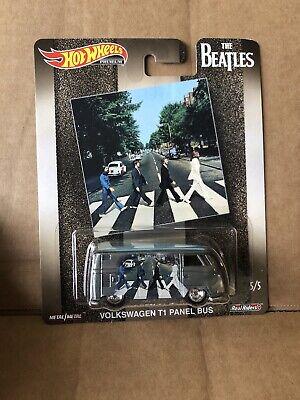 HOT WHEELS DIECAST Pop Culture -The Beatles -Volkswagen T1 Panel Bus - 5/5