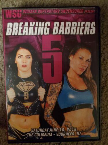 WSU Women s Wrestling Breaking Barriers 5 DVD June 2018 Mercedes Martinez - $7.95